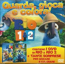 DvD RIO 1&2 (2 Dvd) *** Contenuti Speciali ***   ......NUOVO