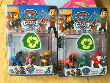 6Pcs/Set Puppy Paw Patrol Toys Action Figures Plastic Puppy Patrol Dog Kids Gift