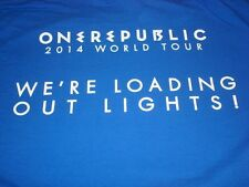 One Republic 2014 World Tour Local Crew T-shirt