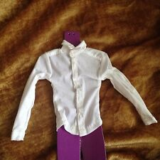 Fashion Royalty Homme Color Infusion 1:6 Scale Dolls Figures White Dress Shirt