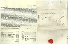 1785 RARITY G TOTNESS ON JOHN ROGERS LETTER EX COCKINGTON  HARRIET FOY SHERBORNE