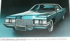 1972 Cadillac ad, Cadillac Coupe de Ville