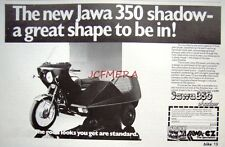 1979 JAWA-CZ '350 Shadow' Motor Cycle ADVERT - Vintage Original Print Ad 492h