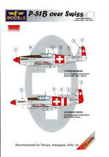 LF Models 1/72 NORTH AMERICAN P-51B MUSTANG Swiss Air Force Paint Mask Set