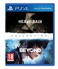 Heavy Rain and Beyond Two Souls Collection for PlayStation 4 (PS4) NEW