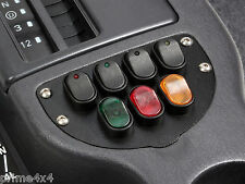 Jeep Cherokee 97-01 XJ 12 Volt 30 Amp 7 LED & Incandescent Rocker Switch Panel