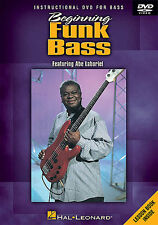 Beginning Funk Bass Learn to Play Lesson Slap Beginner Guitar Music DVD