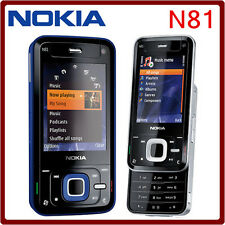 2017 ORIGINAL Nokia N81 Black 100% UNLOCKED GSM N 81 Mobile Phone WARRANTY FREE