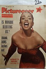 PICTUREGOER,1956,MARCH 31,APRIL OLRICH Cver,DIANA DORS,LENA HORNE,BENNY HILL