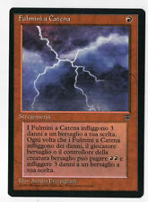 MTG magic - FULMINI A CATENA - CHAIN LIGHTNING leggende legends ITA Mint