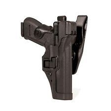 Blackhawk Level 3 SERPA Duty Holster Glock 17/19/22/23/31/32 Right #44H100BK-R