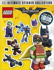 The LEGO Batman Movie Ultimate Sticker Collection by DK New Paperback Book 2017