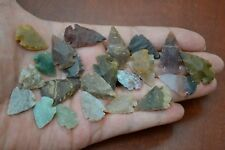 "50 PCS ASSORT SMALL TINY AGATE STONE SPEAR POINT ARROWHEAD 1/2"" - 1"" #T-4"