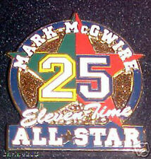 Mark Mcgwire 11 Time All Star Collectors Pin  Cardinals