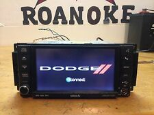 2013 DODGE AVENGER DASH SCREEN NAVIGATION NAVI MP3 RADIO AUX SIRIUS/OEM