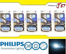 Philips Vision LED 194 168 T10 White 6000K 1W Ten Bulbs Replacement Light Lamp