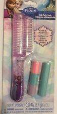 NEW DISNEY FROZEN HAIR CHALK COMB-Purple Comb/Mcolor&Blue Chalk IN PLAY WASH OUT