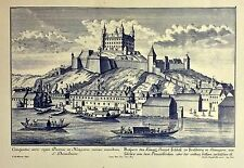 Reproduction Print Picture of a Castle Hungarian Vs Meredian
