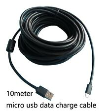10meter 30feet long Micro usb data charger cable for android phones and tablets
