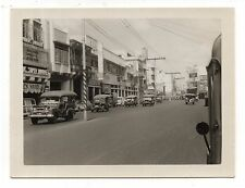 Vintage Photo Cool City Street, Stores, Advertising, Classic Cars, Trucks, Nov