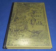 """Für's kleine Volk - 1889/90 Beilage zu der Wochenschrift """"Fürs Haus"""""""