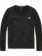 MAISON SCOTCH STAR GLITTER JUMPER SWEATSHIRT SZ 1,2,3 S,M,L  £139