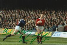 WALES HAND SIGNED PAUL THORBURN 6X4 PHOTO RUGBY UNION 2.