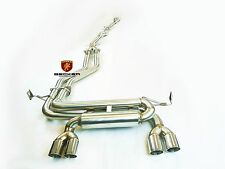 BECKER Catback Exhaust System For 2001 To 2006 BMW M3 E46 3.2L Coupe