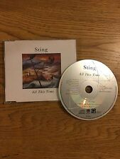 Sting (The Police) European Jewel Case Cd Single 1991 All This Time And Live