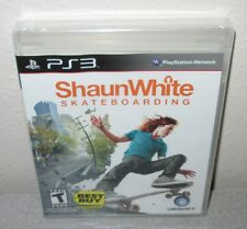 SHAUN WHITE SKATEBOARDING Sealed NEW PlayStation 3 Sports Best Buy Exclusive