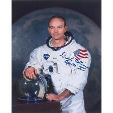 4 Photos Astronaut Buzz Aldrin Armstrong Collins Signed Apollo 11 Crew Autograph