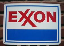 EXXON Mobil Oil Gas Service Station SIGN GASOLINE Pump SIGN Garage Mechanic 7day