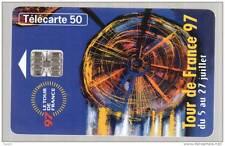 745 F745 - 06/97 - SC7 - numéros rouges - TELECARTE 50 - TOUR DE FRANCE 97 - n°