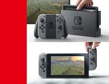 Nintendo Switch 32GB Console System Gray Joy-Co New Sealed Pre-order