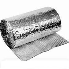 NEW HEAVY DUTY DOUBLE  FOIL AIR SILVER CELL INSULATION 75 SQ M FREE SHIPPING