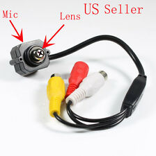 Tiny Screw Mini Color CCTV Security Surveillance Camera