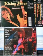 Yngwie J. Malmsteen's Rising Force - Marching Out (CD,1985,Polydor,Japan w/OBI)