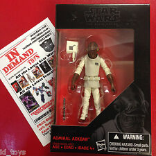 "Star Wars Black Series 3 3/4"" Admiral Ackbar NEW IN HAND"