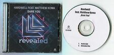 Hardwell PROMO-CD dare you © 2014-RADIO EDIT + Extended Mix-Kontor LC 02182