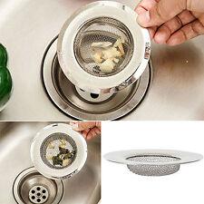 1x Stainless Steel Kitchen Sink Mesh Strainer Drain Garbage Disposal