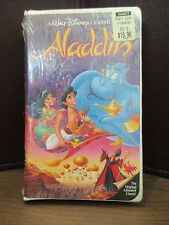 Walt Disney's Black Diamond The Classics Aladdin VHS Original Factory Sealed