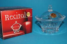 Scatolina Recital 95x90 mm. in cristallo RCR Made in Italy Bomboniere Sposi Box
