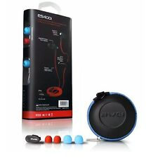 AWEI In-Ear Noise Isolating Earphone With Mic For iPhone iPod iPad Tablet(Blue)