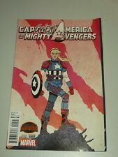 CAPTAIN AMERICA AND THE MIGHTY AVENGERS #9 VARIANT MARVEL COMICS SECRET WARS