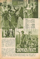 1960, Lilli Palmer / CONSPIRACY OF HEARTS Japan Vintage Clippings 4et11