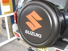 Suzuki jimny Grand Vitara 4x4 Semi-rígida de Rueda de Repuesto Cubierta-Negro con logotipo
