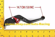 CNC Short Adjustable Brake Clutch Levers Set For Ducati/Aprilia/Kawasaki/KTM