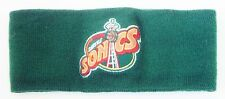 Vintage SEATTLE SUPERSONICS Sonics LOGO 7 NBA HEADBAND Beanie Hat / NW Ski...