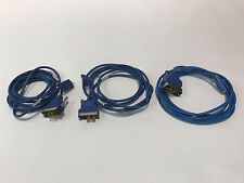 Lot of (3) Cisco CAB-SS-V35MT Smart Serial to V.35 Cable DTE Male 10' 72-1428-01