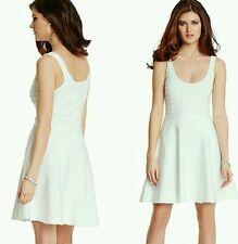 New Guess by Marciano white Addisones Bandage Dress size S